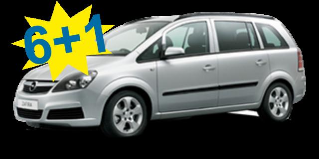 Opel Zafira Automat or Similar / Class: Minivan