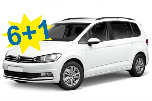 VW Touran Automaticl or Similar / Class: Minivan